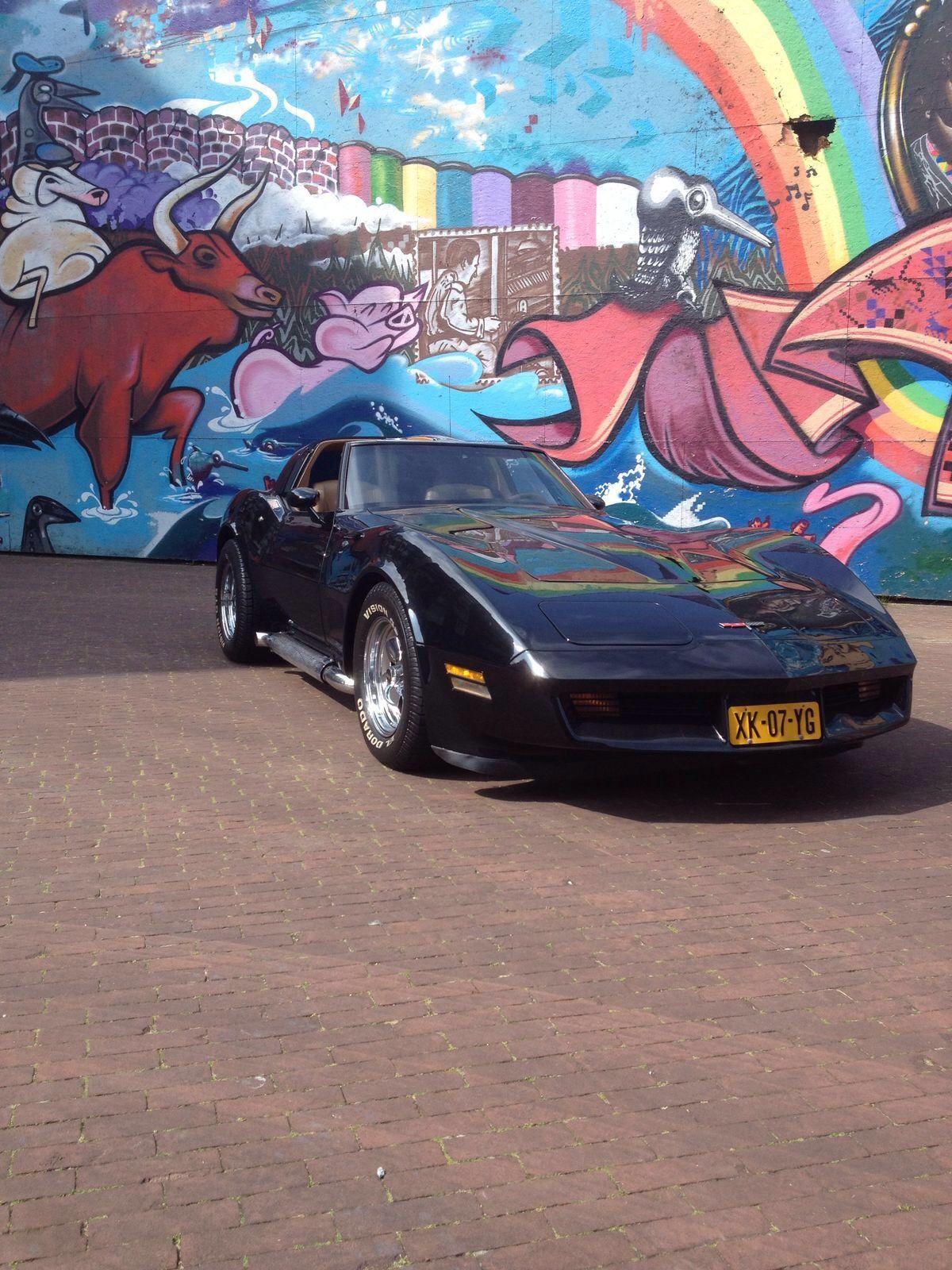 Chevrolet Corvette 1980 Special Black Edition