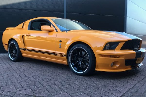 Ford Mustang Shelby GT-500 Grabber Orange Muscle Car